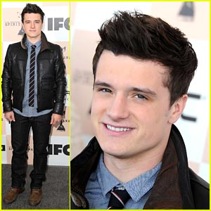 Josh Hutcherson: Spirit Awards Stud