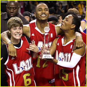 Justin Bieber: NBA All-Star Celebrity Game!
