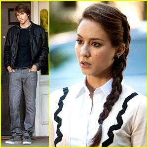 Troian Bellisario: Keegan Allen is Back!
