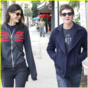 Logan Lerman & Alexandra Daddario: West Hollywood Lunch!