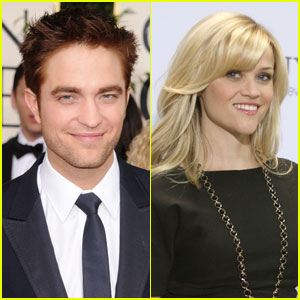 Reese Witherspoon: Rob Pattinson Is 'So Good Looking!'