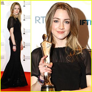 Saoirse Ronan: Irish Film & Television Awards Winner!