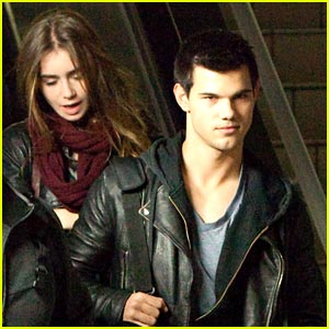 Taylor Lautner & Lily Collins: LAX Lovers