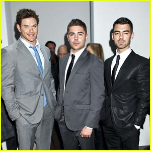 Zac Efron & Joe Jonas: Calvin Klein Cuties