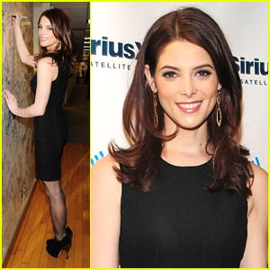 Ashley Greene Stops By Sirius Radio