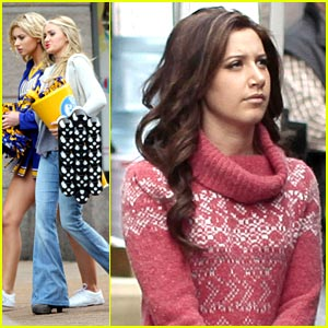 Ashley Tisdale: Hellcats Lunch Break