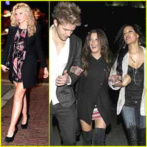 Ashley Tisdale & Aly Michalka: Hellcats Wrap Party!