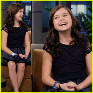 Bailee Madison Just Goes With the 'Tonight Show'