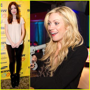 Brittany Snow & Christian Serratos: 96 Minutes at SXSW!