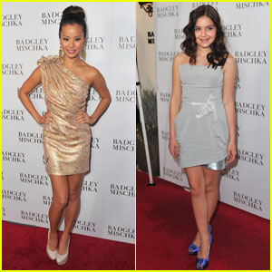 Jamie Chung & Ariel Winter: Badgley Mischka Opening!
