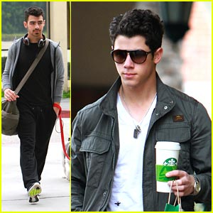 Nick & Joe Jonas: Out & About in Los Angeles