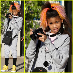 Willow Smith: Camera Cutie