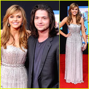 Aimee Teegarden & Thomas McDonell: Prom Premiere Pair!