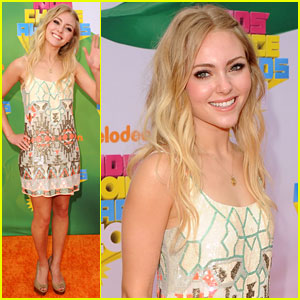 AnnaSophia Robb - KCA 2011 Orange Carpet