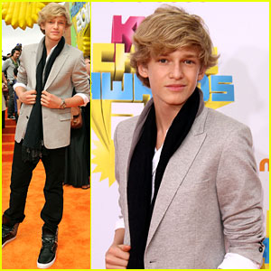 Cody Simpson - KCA 2011 Orange Carpet