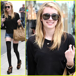 Emma Roberts: Thigh High Hottie