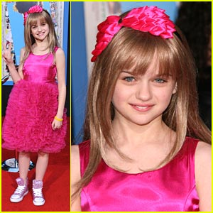 Joey King: Pink Sneakers For Prom!