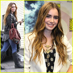 Lily Collins: WonderCon Wave