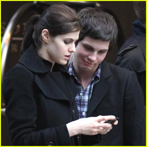 Logan Lerman & Alexandra Daddario Explore New York