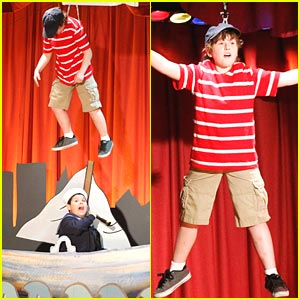 Nolan Gould is Flying High