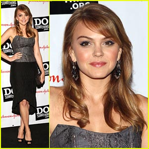 Aimee Teegarden: Do Something Sweetie
