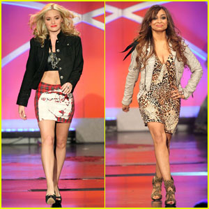 AJ Michalka &#038; Raven Symone: Erase MS Models!