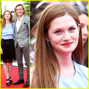 Bonnie Wright & Jamie Campbell Bower: National Movie Award Winners!