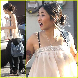 Brenda Song: Sunday in Sherman Oaks