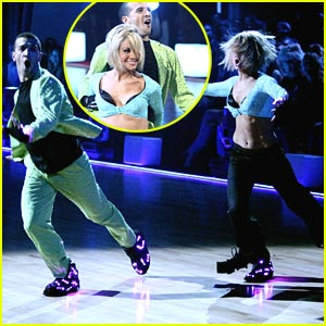 Chelsea Kane & Mark Ballas Light Up Dancing With The Stars!