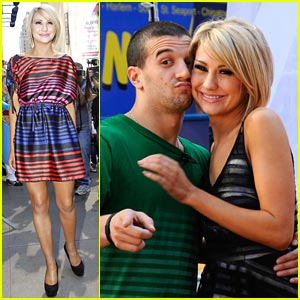 Chelsea Kane Dances With The Stars in NYC