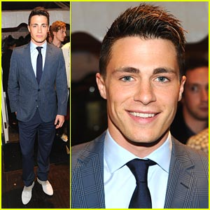 Colton Haynes: Hugo Boss Party!