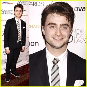 Daniel Radcliffe: MTV Movie Award Best Kiss Nominee!