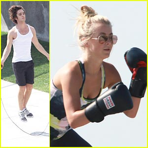 Julianne Hough &#038; Diego Boneta: Workout Buddies!