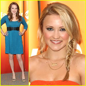 Emily Osment &#038; Kay Panabaker Present 'Cyberbully'