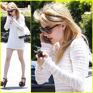 Emma Roberts: 'Art of Getting By' Clip Next Week!