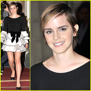 Emma Watson Launches Lancôme Trésor Midnight Rose