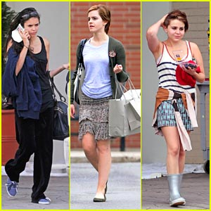 Emma Watson &#038; Nina Dobrev: 'Perks of Being A Wallflower' Women
