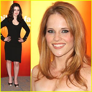 Katie Leclerc & Vanessa Marano 'Switch' Up the Upfronts