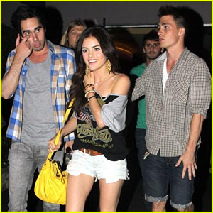 Lucy Hale &#038; Colton Haynes: Bowling Buddies