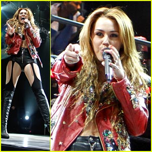 Miley Cyrus: Red Hot in Rio!