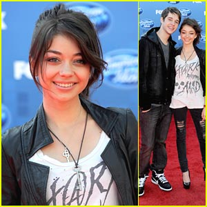 Sarah Hyland: American Idol Finale with Matt Prokop