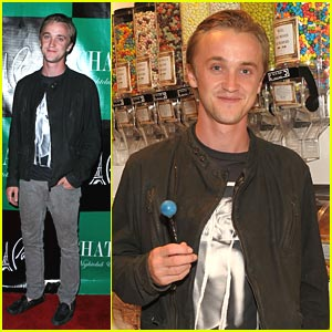 Tom Felton: Sugar Factory Friday!