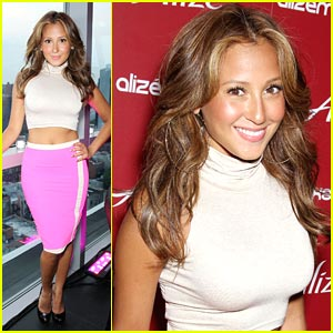 Adrienne Bailon: Alize Oasis Mix Squad Hostess!