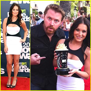 Alexa Vega: Favorite Latino at MTV Movie Awards!