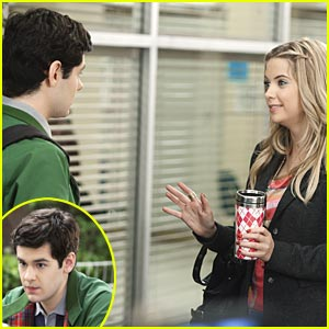 Ashley Benson: Blind Date with Brendan Robinson?