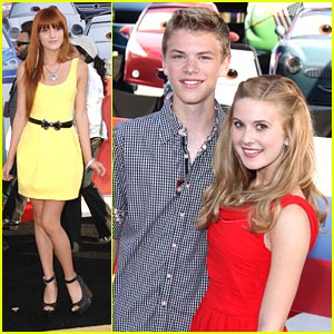 Bella Thorne & Caroline Sunshine: 'Cars 2' Cuties