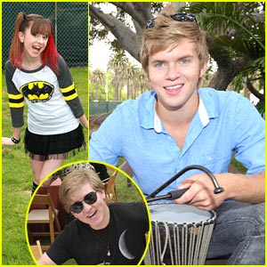 Doug & Chris Brochu: A Time For Heroes Picnic with Allisyn Arm!