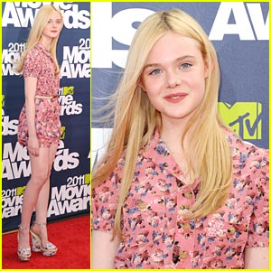 Elle Fanning: 'Super 8' at the MTV Movie Awards