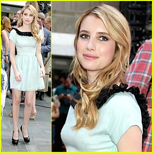 Emma Roberts: 'Gets By' on The Today Show