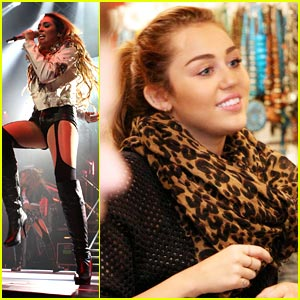 Miley Cyrus: Darlinghurst Shopping Before Concert!